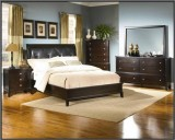 LOTHIAN BEDROOM SUITE - DARK CAPPUCCINO