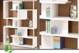 MAIZE - MODERN BOOKSHELF - WHITE