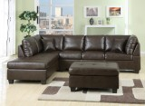 NEW JERSEY - SECTIONAL WITH CHAISE ONLY IN BROWN