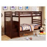 "Princeton Step / Staircase 39""/39"" Bunk Bed Only - Espresso"