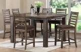 SHAKERA - 9PC PUB TABLE SET IN GREY BY EZTIA