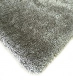 SHAGGY VISCOSE SOLID SILVER