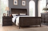 Sonoma Sleigh King Bed by Winners Only