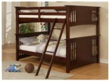 STRATFORD DOUBLE / DOUBLE BUNK BED FRAME - ESPRESSO / DRAWERS AVAILABLE