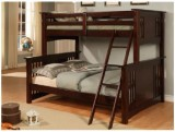 STRATFORD TWIN / DOUBLE BUNK BED FRAME - ESPRESSO / DRAWERS AVAILABLE
