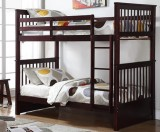 SYDNEY - TWIN/ TWIN BUN BED FRAME IN ESPRESSO