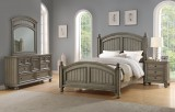 Farmhouse Bay King Bed in Grey by Winners Only