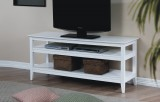 "Quadra 53"" Entertainment Unit in White by Winners Only"
