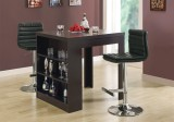 I 2356 - BARSTOOL - BLACK / CHROME METAL HYDRAULIC LIFT