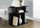 "I 2473 - ACCENT TABLE - 24""H / BLACK"