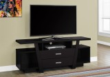 "I 2720 - TV STAND - 60""L / CAPPUCCINO WITH 2 STORAGE DRAWERS"