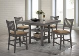 SUBURBAN - 5PC PUB TABLE SET BY EZTIA