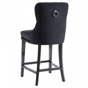Rizzo 26'' Counter Stool in Black by Worldwide Homefurnishings Inc