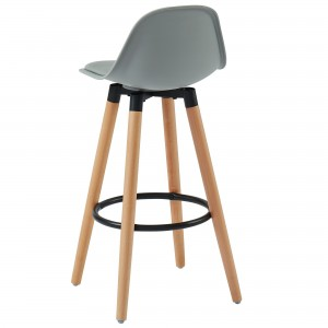 "Diablo 26"" Counter Stool in Grey by Worldwide Homefurnishings Inc"