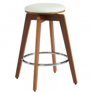 "Rotman 26"" Counter Stool in Ivory by Worldwide Homefurnishings Inc"