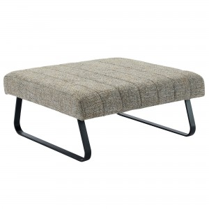 Sirus Cocktail Ottoman in Camel Blend by Worldwide Homefurnishings