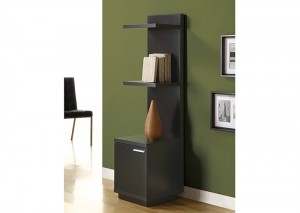 I 2529 - Cappuccino Hollow-Core Audio and Display Tower