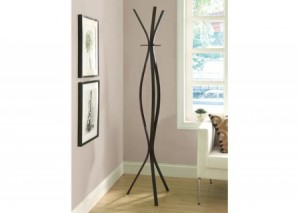I 2016 - CAPPUCCINO METAL CONTEMPORARY 72″H COAT RACK