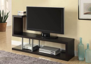 "I 2550 - HOLLOW-CORE 60""L TV CONSOLE - CAPPUCCINO"