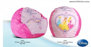 JUNIOR PRINCESS - FAIRY TALE DREAMS BEAN BAG COVER