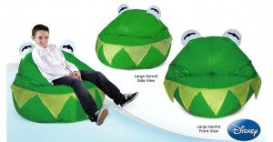 LARGE KERMIT BEAN BAG COVER