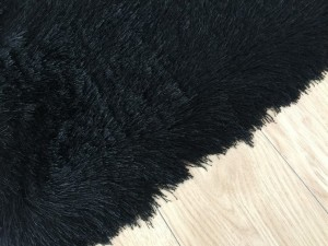 LUREX BLACK SHAG