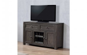 "LANCASTER 54"" ENTERTAINMENT UNIT IN GREY BY WINNERS ONLY"