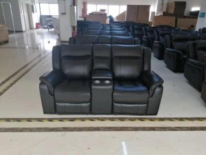 Cody - 3Pc Recliner Set - Sofa, Loveseat and Chair in Grey Leather Gel