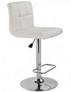 MAX GAS LIFT STOOL - WHITE