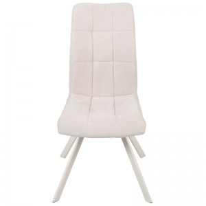 TOBY SIDE CHAIR IN OFF WHITE/BEIGE