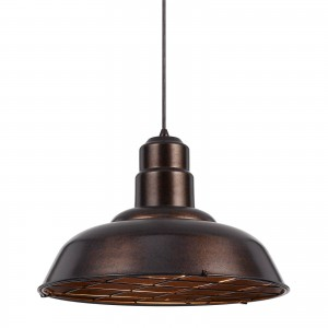 Cal Lighting UP-1111-6-DB Ashland 1 Light 16 inch Dark Bronze Pendant Set Ceiling Light, Line Volt