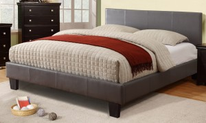"VOLT DOUBLE BED FRAME 54"" - GREY"