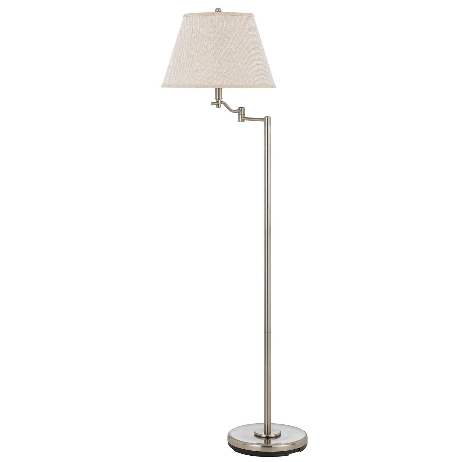 Cal Lighting Bo 2350fl Bs Dana Swing Arm Floor Lamp 150