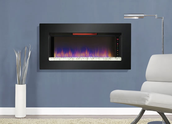 Classic Flame Felicity Infrared Electric Fireplace Wall Mount Insert
