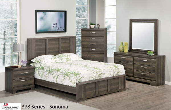 378 SERIES   SONOMA BEDROOM SUITE IN CHABLIS PEAR