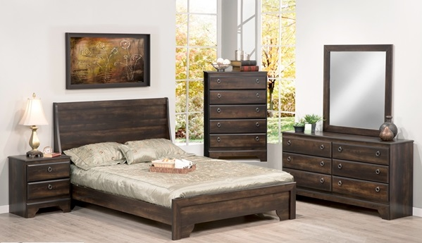 537 SERIES - 6PC NORTHAMPTON QUEEN BEDROOM SUITE IN ESPRESSO