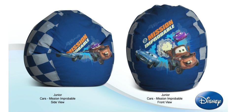 JUNIOR CARS - MISSION IMPROBABLE BEAN BAG COVER