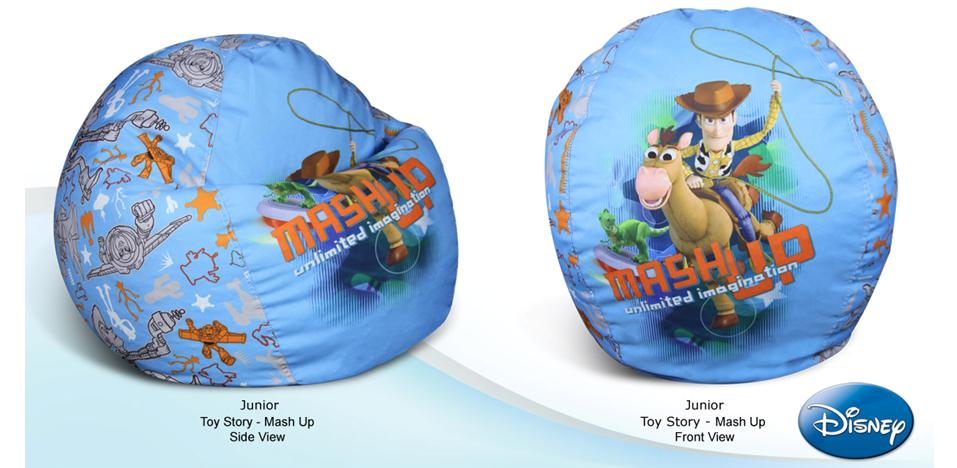 JUNIOR TOY STORY - MASH UP BEAN BAG COVER