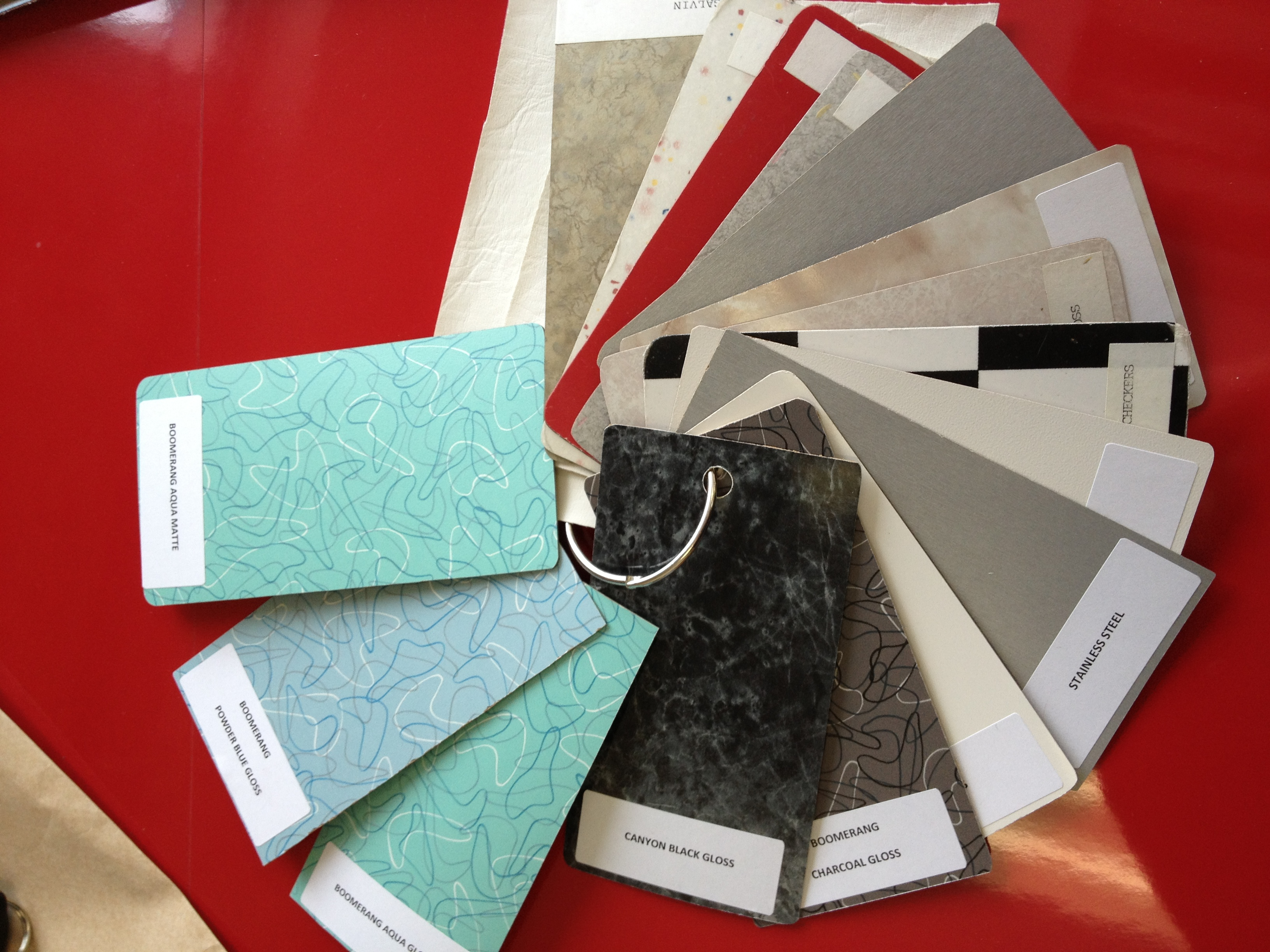 Choose Your Favorite Color Laminate For The Retro Style