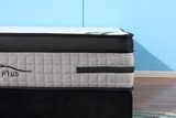 "Sleep Plus - 12.5"" Euro Pillow Top Mattress in a Box in Double"