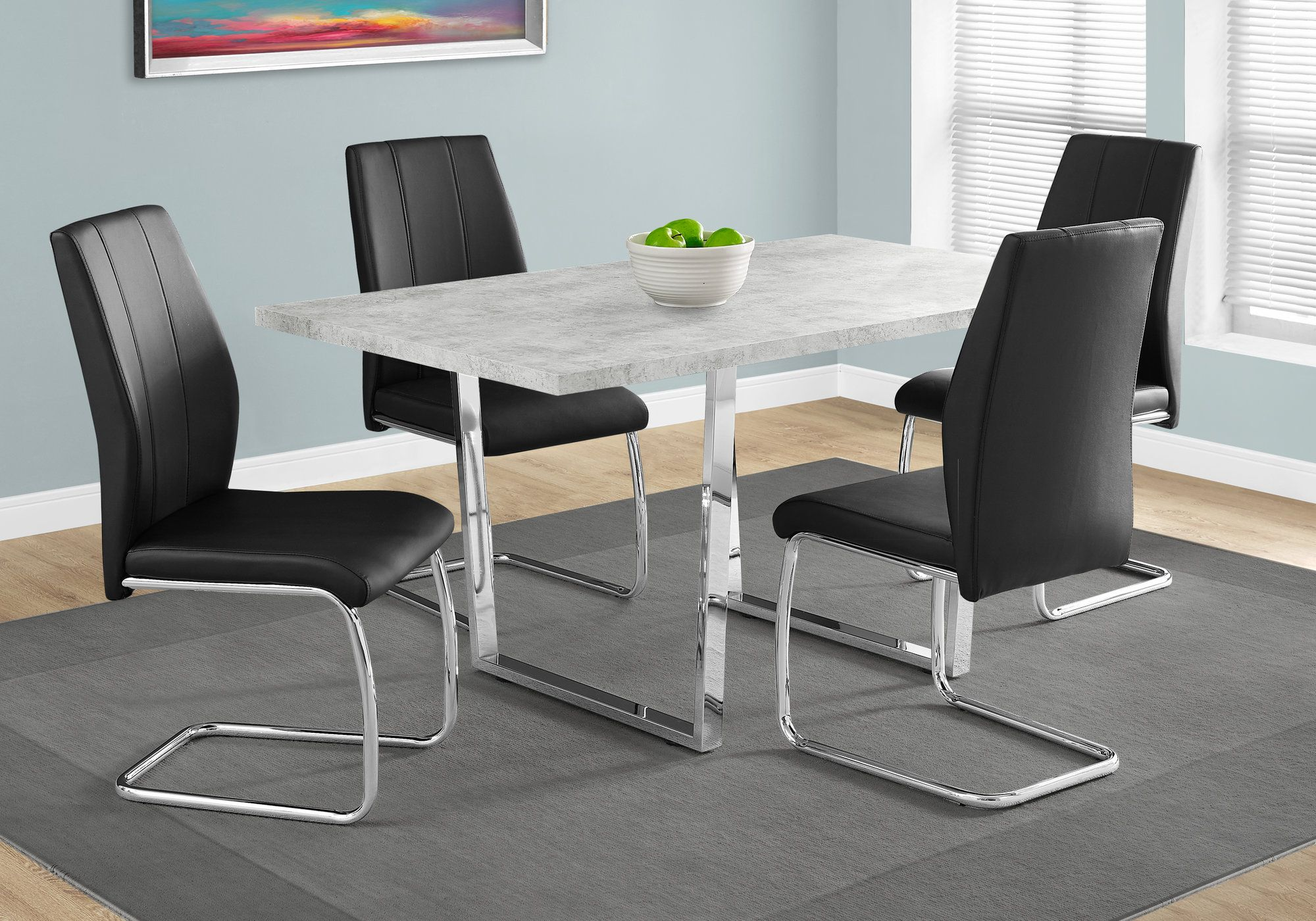 htm set gray counter and height bolanburg room rectangular table dining white