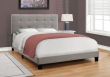 I 5920Q - BED - QUEEN SIZE / GREY LINEN