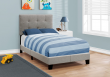 I 5920T - BED - TWIN SIZE / GREY LINEN