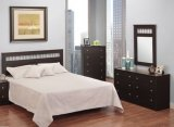 121/127 SERIES - 4PC QUEEN BEDROOM SUITE IN DARK SADDLE BIRCH