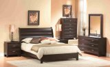 343 Series - Mocha 6Pc Queen Bedroom Suite by Dynamic Furniture