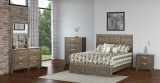 436 Series - Valley Oak 6 PC Bedroom Set