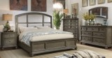 Alyssa - 6Pc King Bedroom Suite in Distressed Grey Finish by Titus Furniture