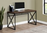 "I 7450 - COMPUTER DESK - 48""L / BROWN RECLAIMED WOOD / BLACK METAL BY MONARCH SPECIALTIES INC"