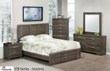 378 SERIES - SONOMA BEDROOM SUITE IN CHABLIS PEAR