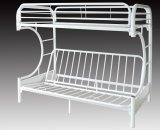 VENUS - C FUTON METAL BUNK BED FRAME - WHITE